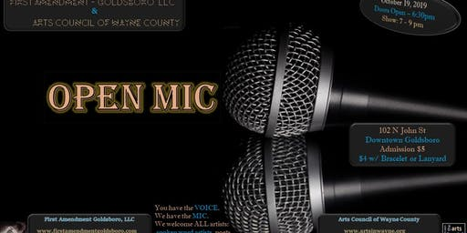 First Amendment - Goldsboro, LLC Open Mic