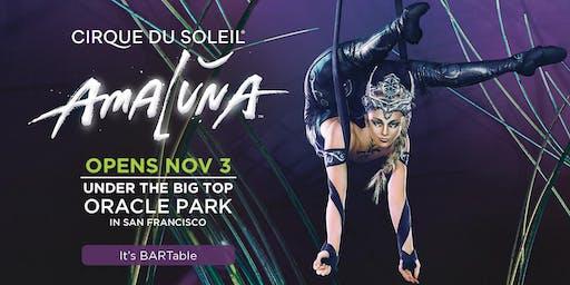 Cirque du Soleil in San Francisco - AMALUNA
