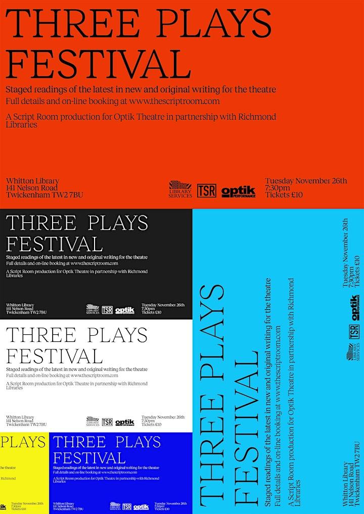 Three Plays Festival image