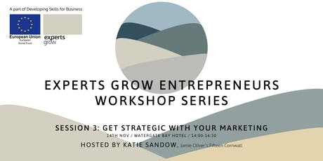Get strategic with your marketing  - Hosted by Katie Sandow of Fifteen tickets