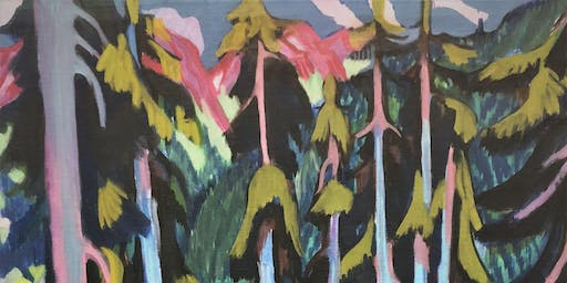 Ernst Ludwig Kirchner – autumn forest painting class