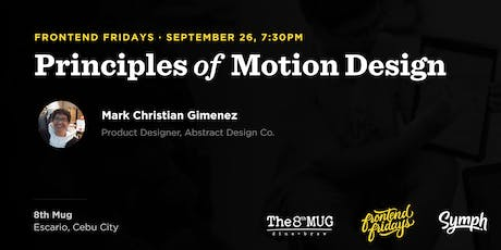 Principles of Motion Design tickets