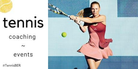Tennis Coaching : Tuesday's @ TiB, Kreuzberg (indoor carpet) tickets