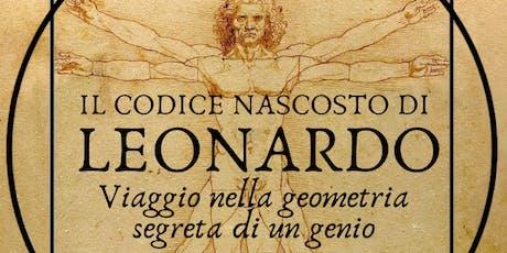 Il Codice Nascosto di Leonardo | Presentazione del libro biglietti