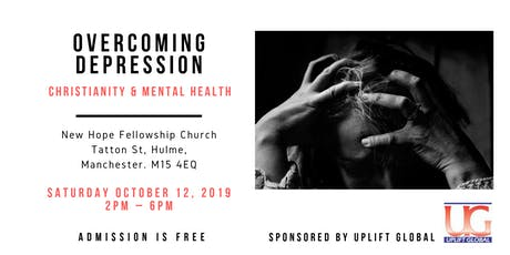 OVERCOMING DEPRESSION tickets