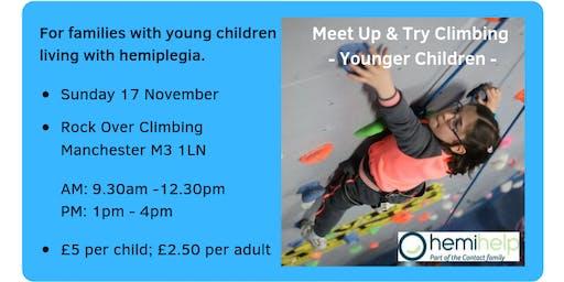 HemiHelp Meet Up & Try Climbing