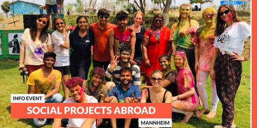 Go abroad: Info event about social projects abroad | Mannheim