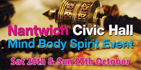 Nantwich Mind body & Spirit Event tickets