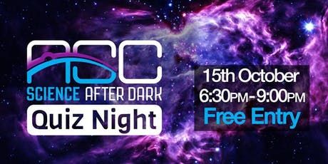 Science After Dark - Quiz tickets