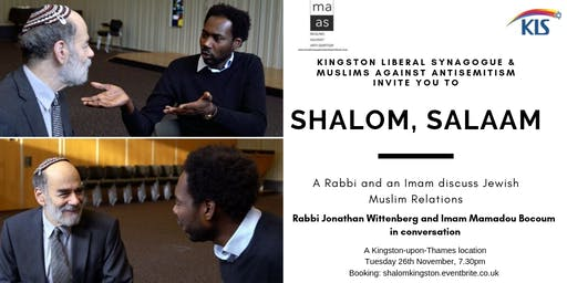 Shalom, Salaam - An Imam and a Rabbi discuss Jewish-Muslim relations