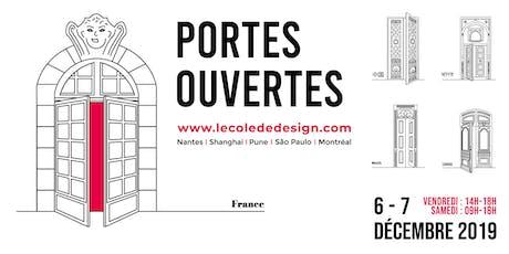 Portes ouvertes 2019 de L'École de design Nantes Atlantique billets