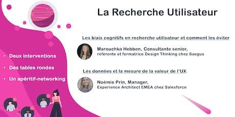 Design Thinking & UX : la Recherche Utilisateur billets