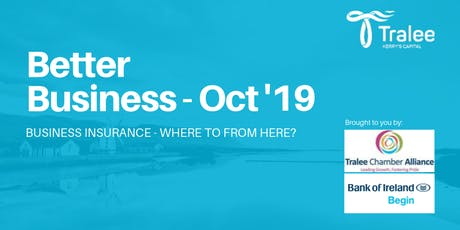 Business Insurance  - Where to from here? tickets