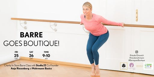 Barre goes Boutique