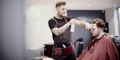 Get Started with Barbering: Slick blow drying & styling