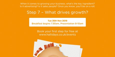 Business AM: What Drives Growth? tickets