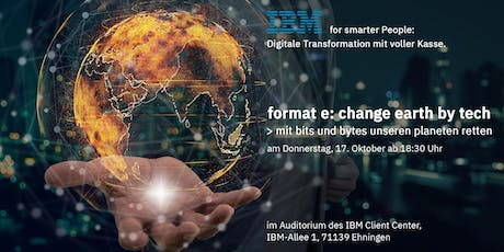 Meetup #2 format e: change earth by tech Tickets