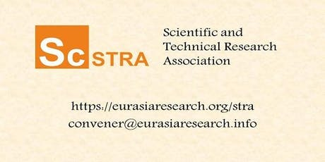 ICSTR Paris – International Conference on Science & Technology Research, 10-11 June 2020 billets