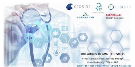 Breaking down the silos: Product Development Journey through Post-Marketing EMA vs FDA tickets