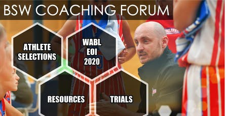 COACHING FORUM | WABL  2020 | EOI NIGHT tickets