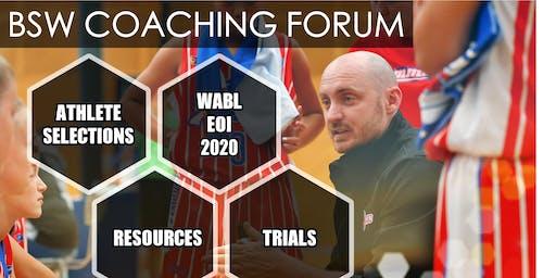 COACHING FORUM | WABL  2020 | EOI NIGHT