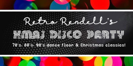 DJ Retro Rendell's Christmas Disco Party