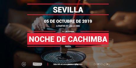 Noche de Cachimba en Pause&Play Metromar tickets