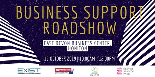 East Devon Business Support Roadshow