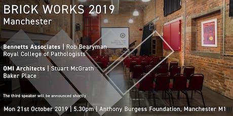 Brick Works 2019, Manchester tickets
