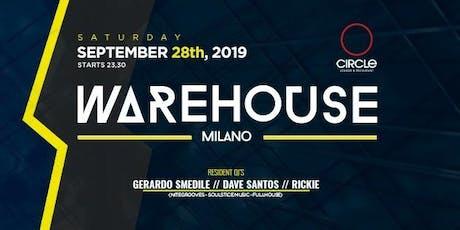 Warehouse 4/terzo episodio biglietti