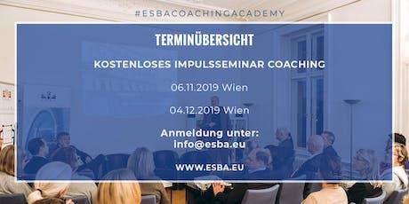 Impulsseminar für Coaching und Führungskompetenz Tickets
