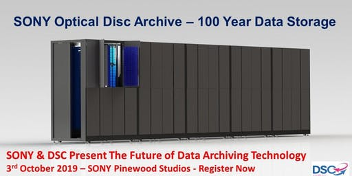 Sony Optical Disc Archive - Lifetime Storage and Availability for Research