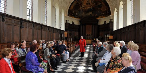 Chelsea Pensioner Guided Tour + State Apartments
