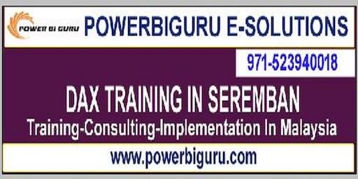 Microsoft DAX training in SEREMBAN