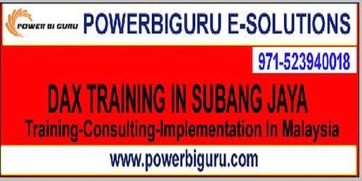 Microsoft DAX training in SUBANG JAYA