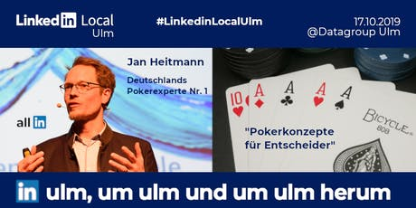 #LinkedinLocalUlm Launch am 17.10.2019 Tickets