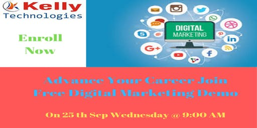 Sign Up For Free Digital Marketing Demo Session By Real-Time Experts