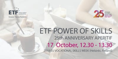 ETF 25th Anniversary Aperitif