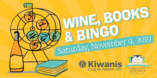 Wine, Books & Bingo