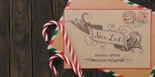 Kingston - Santa's Grotto -Thurs 5th Dec