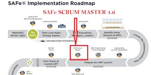 Certified SAFe Scrum Master (SSM) 4.6.1 , Weekend 9-10 Nov 2019, at London, UK - Confirmed to run