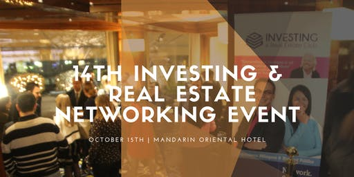 14th Investing & Real Estate Club Networking Event