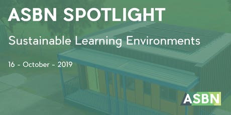 Sustainable Learning Environments | ASBN Spotlight tickets