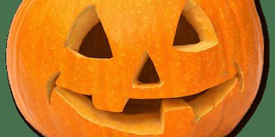 Cirencester Library - Hallowe'en craft activity: Jack O' Lantern Masks