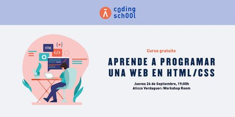 "AticcoTalks: ""Aprende a programar una página web en HTML/CSS"" tickets"