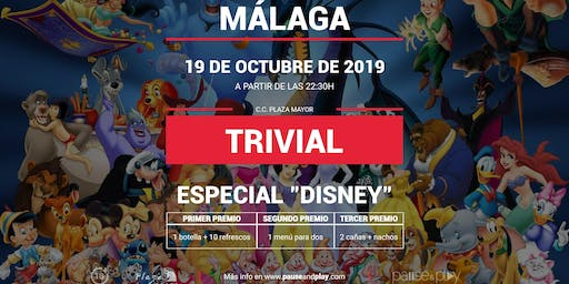 Trivial Especial Disney en Pause&Play Plaza Mayor