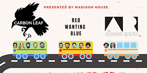 Live at The Orpheum: Red Wanting Blue, Carbon Leaf & The Alternate Routes