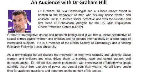 An Audience with Dr Graham Hill tickets