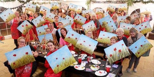 Poppy Field Brush Party - Harrow Weald