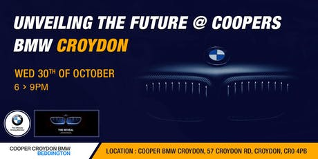 Unveiling the Future @ Coopers BMW Croydon | Shaking Hands tickets